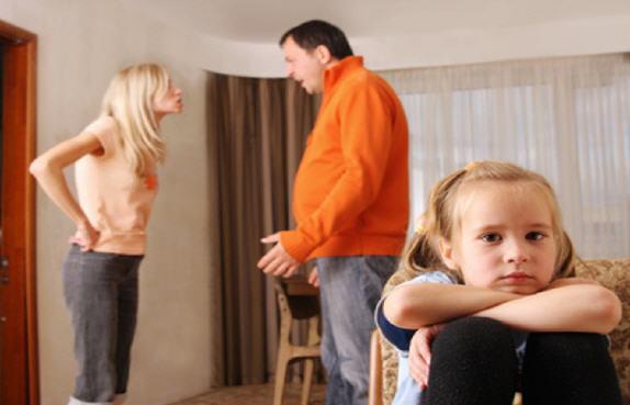 Hijos ante la separación de los padres